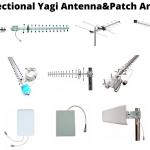Directional Yagi Antenna & Patch Antenna